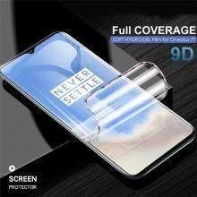 Гидрогелевая защитная плёнка для смартфона OnePlus 7T / Realme X2 Pro / Oppo Reno Ace, в комплект входят 2 плёнки, бронированная плёнка, полноэкранная плёнка (закрывает экран смартфона полностью), клеится к экрану смартфона всей поверхностью, клеится без использования жидкости, самовосстанавливающаяся плёнка, не влияет на чувствительность сенсора, не искажает цвета, олеофобное покрытие, пластиковый держатель для точного позиционирования плёнки на экране, шпатель для разглаживания плёнки, Киев