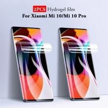 Гидрогелевая защитная плёнка для смартфона Xiaomi Mi10 / Xiaomi Mi10 Pro, в комплект входят 2 плёнки, бронированная плёнка, полноэкранная плёнка (закрывает экран смартфона полностью), клеится к экрану смартфона всей поверхностью, клеится без использования жидкости, самовосстанавливающаяся плёнка, не влияет на чувствительность сенсора, не искажает цвета, олеофобное покрытие, пластиковый держатель для точного позиционирования плёнки на экране, шпатель для разглаживания плёнки, Киев