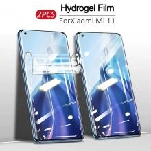 Гидрогелевая защитная плёнка для смартфона Xiaomi Mi11 (глянцевая или матовая), в комплект входят 2 плёнки, бронированная плёнка, полноэкранная плёнка (закрывает экран смартфона полностью), клеится к экрану смартфона всей поверхностью, самовосстанавливающаяся плёнка, не влияет на чувствительность сенсора, не искажает цвета, олеофобное покрытие, пластиковый держатель для точного позиционирования плёнки на экране, шпатель для разглаживания плёнки, Киев