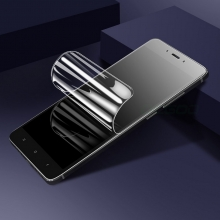 Гидрогелевая защитная плёнка для смартфона Xiaomi Mi8 Lite, в комплект входят 2 плёнки, бронированная плёнка, полноэкранная плёнка (закрывает экран смартфона полностью), клеится к экрану смартфона всей поверхностью, клеится без использования жидкости, самовосстанавливающаяся плёнка, не влияет на чувствительность сенсора, не искажает цвета, олеофобное покрытие, пластиковый держатель для точного позиционирования плёнки на экране, шпатель для разглаживания плёнки, Киев