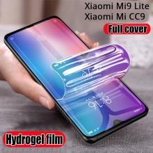 Гидрогелевая защитная плёнка для смартфона Xiaomi Mi9 Lite / Xiaomi Mi CC9 / Xiaomi Mi9 / Xiaomi Mi9 Pro / Huawei Nova 5 / Huawei Nova 5 Pro, бронированная плёнка, полноэкранная плёнка (закрывает экран смартфона полностью), клеится к экрану смартфона всей поверхностью, клеится без использования жидкости, самовосстанавливающаяся плёнка, не влияет на чувствительность сенсора, не искажает цвета, олеофобное покрытие, Киев