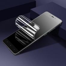 Гидрогелевая защитная плёнка для смартфона Xiaomi RedMi 6 / Xiaomi RedMi 6A, в комплект входят 2 плёнки, бронированная плёнка, полноэкранная плёнка (закрывает экран смартфона полностью), клеится к экрану смартфона всей поверхностью, клеится без использования жидкости, самовосстанавливающаяся плёнка, не влияет на чувствительность сенсора, не искажает цвета, олеофобное покрытие, пластиковый держатель для точного позиционирования плёнки на экране, шпатель для разглаживания плёнки, Киев