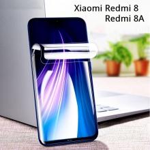 Гидрогелевая защитная плёнка для смартфона Xiaomi Redmi 8 / Redmi 8A, в комплект входят 2 плёнки, бронированная плёнка, полноэкранная плёнка (закрывает экран смартфона полностью), клеится к экрану смартфона всей поверхностью, клеится без использования жидкости, самовосстанавливающаяся плёнка, не влияет на чувствительность сенсора, не искажает цвета, олеофобное покрытие, пластиковый держатель для точного позиционирования плёнки на экране, шпатель для разглаживания плёнки, Киев