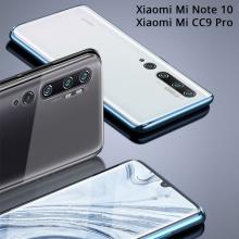 Магнитный чехол Luphie с задней стеклянной панелью для смартфона Xiaomi Mi Note 10 / Xiaomi Mi CC9 Pro, противоударный бампер, рама из магналия, сплав алюминия и магния, задняя панель из закалённого стекла, бронированное стекло, соединяются магнитами, 9H, не влияет на качество приёма / передачи сигнала, не мешает беспроводной зарядке, чёрный, синий, красный, серебряный, Киев