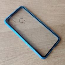 Магнитный чехол Luphie с задней стеклянной панелью для смартфона Xiaomi Mi8, противоударный бампер, рама из магналия, сплав алюминия и магния, задняя панель из закалённого стекла, бронированное стекло, соединяются магнитами, 9H, не влияет на качество приёма / передачи сигнала, не мешает беспроводной зарядке, чёрный, синий, красный, Киев