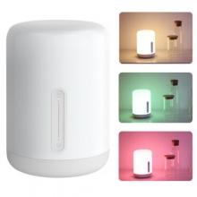 Прикроватная лампа Xiaomi MiJia Bedside Lamp 2, светильник, ночник, Mi Home (Android), Apple HomeKit (iOS), интеграция в систему «умный дом», голосовое управление, белый свет, цветной свет, струящийся свет (сменяющие друг друга цвета), таймер отключения, взаимодействие с Mi Band, Wi-Fi 802.11b/g/n 2,4 ГГц, Bluetooth 4.2 BLE, работает с Android 4.4 и выше и iOS 9.0 и выше, белый, Киев
