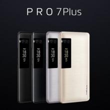 """Смартфон Meizu Pro 7 Plus (6 + 64 Гб), цельнометаллический корпус, 2 SIM-карты, GSM, 3G WCDMA, CDMA, 4G LTE, 10-ядерный MTK MT6799 Xelio X30, видеокарта PowerVR 7XTP, 6 Гб RAM + 64 Гб ROM, экран Super AMOLED 5,7"""", 2560 * 1440, дополнительный экран на задней панели, двойная основная камера 12+12 MP, фронтальная камера 16 MP, сканер отпечатков пальцев, аудиочип Cirrus Logic CS43130, аккумулятор 3500 мА/ч, функция быстрой зарядки, Wi-Fi, Bluetooth 4.2, GPS, OTG, USB Type-C, Flyme 6, Android 7.0, Киев"""