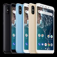 Смартфон Xiaomi Mi A2 (4 + 64 Гб), цельнометаллический корпус, 2 SIM-карты, 4G LTE, Snapdragon 660, 4 Гб RAM + 64 Гб ROM, экран 5,99'' IPS 2160 * 1080, 18:9, 2,5D, двойная основная камера 20 MP + 12 MP, селфи камера 20 MP, светодиодные вспышки на основной и на селфи камерах, аккумулятор 3010 мА/ч, сканер отпечатков пальцев, Wi-Fi, Bluetooth 5.0, GPS, OTG, инфракрасный порт, USB Type-C, Android 8.1, УКРАЇНСЬКА МОВА, РУССКИЙ ЯЗЫК, GOOGLE PLAY, Киев