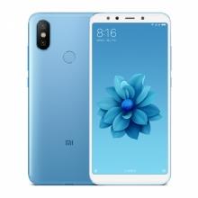 Смартфон Xiaomi Mi6X (6 + 64 Гб, с поддержкой CDMA), цельнометаллический корпус, 2 SIM-карты, Intertelecom, Интертелеком, 4G LTE, Snapdragon 660, 6 Гб RAM + 64 Гб ROM, экран 5,99'' IPS 2160 * 1080, 18:9, 2,5D, двойная основная камера 20 MP + 12 MP, селфи камера 20 MP, светодиодные вспышки на основной и на селфи камерах, аккумулятор 3010 мА/ч, сканер отпечатков пальцев, Wi-Fi, Bluetooth 5.0, GPS, OTG, инфракрасный порт, USB Type-C, MIUI 12, Android 9, УКРАЇНСЬКА МОВА, РУССКИЙ ЯЗЫК, GOOGLE PLAY, Киев