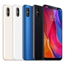 Смартфон Xiaomi Mi8 (6 + 128 Гб, с поддержкой CDMA), стеклянный корпус с алюминиевой рамой, 2 SIM-карты, 4G LTE, Snapdragon 845, Adreno 630, 6 Гб RAM + 128 Гб ROM, экран 6,21'' AMOLED 2248 * 1080, 18,7:9, 2,5D, Gorilla Glass 5, двойная основная камера 12 MP + 12 MP, селфи камера 20 MP, аккумулятор 3400 мА/ч, Quick Charge 4.0+, сканер отпечатков пальцев, Wi-Fi, Bluetooth 5.0, GPS, OTG, NFC, стереодинамики, aptX / aptX-HD, USB Type-C, MIUI 10, Android 8.1, УКРАЇНСЬКА МОВА, РУССКИЙ ЯЗЫК, GOOGLE PLAY, Киев