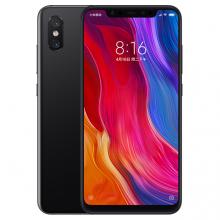 Смартфон Xiaomi Mi8 (6 + 256 Гб, с поддержкой CDMA), стеклянный корпус с алюминиевой рамой, 2 SIM-карты, 4G LTE, Snapdragon 845, Adreno 630, 6 Гб RAM + 256 Гб ROM, экран 6,21'' AMOLED 2248 * 1080, 18,7:9, 2,5D, Gorilla Glass 5, двойная основная камера 12 MP + 12 MP, селфи камера 20 MP, аккумулятор 3400 мА/ч, Quick Charge 4.0+, сканер отпечатков пальцев, Wi-Fi, Bluetooth 5.0, GPS, OTG, NFC, стереодинамики, aptX / aptX-HD, USB Type-C, MIUI 12, Android 10, УКРАЇНСЬКА МОВА, РУССКИЙ ЯЗЫК, GOOGLE PLAY, Киев