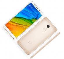 Смартфон Xiaomi RedMi 5 Plus (3 + 32 Гб), Global Version, глобальная версия, международная версия, алюминиевый корпус с пластиковыми вставками, 2 SIM-карты, процессор Snapdragon 625, Adreno 506, 3 Гб RAM + 32 Гб ROM, экран 5,99'' IPS 2160*1080, 18:9, 2,5D, камера 12 MP, светодиодная вспышка, аккумулятор 4000 мА/ч, сканер отпечатков пальцев, Wi-Fi, Bluetooth 4.2, GPS, FM Radio, OTG, инфракрасный порт, MIUI 9, Android 7.1.2, УКРАЇНСЬКА МОВА, РУССКИЙ ЯЗЫК, GOOGLE PLAY, Киев