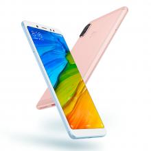 Смартфон Xiaomi RedMi Note 5 (6 + 64 Гб, с поддержкой CDMA), алюминиевый корпус с пластиковыми вставками, 2 SIM-карты, 2G GSM, 3G WCDMA, 3G CDMA, Intertelecom, Интертелеком, 4G LTE, 8-ядерный процессор Snapdragon 636, Adreno 509, 6 Гб RAM + 64 Гб ROM, экран 5,99'' IPS 2160 * 1080, 18:9, 2,5D, двойная основная камера 12 MP + 5 MP, селфи камера 13 MP, аккумулятор 4000 мА/ч, сканер отпечатков пальцев, GPS, FM Radio, OTG, инфракрасный порт, MIUI 9, Android 8.1, УКРАЇНСЬКА МОВА, Киев