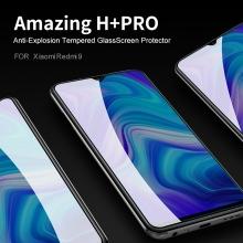 Защитное стекло Nillkin H+Pro для смартфона Xiaomi Redmi 9, закалённое стекло, бронированное стекло, 9H, толщина 0,2 мм, 2,5D, 2.5D, антибликовое покрытие, олеофобное покрытие, Киев