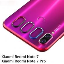 Защитное кольцо для камеры смартфона Xiaomi Redmi Note 7 / Redmi Note 7 Pro, алюминий, не влияет на качество съёмки, чёрный, синий, розовый, Киев