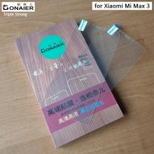 Защитное стекло Bonaier (Triple Strong) для смартфонов Xiaomi Mi Max 3, закалённое стекло, бронированное стекло, 9H, антибликовое покрытие, олеофобное покрытие, Киев