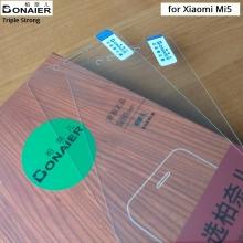 Защитное стекло Bonaier (Triple Strong) для смартфона Xiaomi Mi5, закалённое стекло, бронированное стекло, 9H, антибликовое покрытие, олеофобное покрытие, Киев