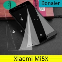 Защитное стекло Bonaier (Triple Strong) для смартфонов Xiaomi Mi5X, закалённое стекло, бронированное стекло, 9H, антибликовое покрытие, олеофобное покрытие, Киев