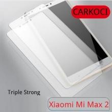 Защитное стекло Carkoci (Triple Strong) для смартфона Xiaomi Mi Max 2, закалённое стекло, бронированное стекло, 9H, антибликовое покрытие, олеофобное покрытие, Киев