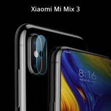 Защитное стекло для камеры смартфона Xiaomi Mi Mix 3, бронированное стекло, толщина 0,2 мм, показатель по минералогической шкале твёрдости (шкала Мооса от 1 до 10): 9H (твёрдость алмаза 10H), в 4 раза более устойчиво к царапинам, чем обычная защитная плёнка, не влияет на качество съёмки, прозрачное, Киев