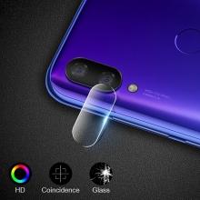 Защитное стекло для камеры смартфона Xiaomi Redmi 7, бронированное стекло, толщина 0,3 мм, показатель по минералогической шкале твёрдости (шкала Мооса от 1 до 10): 9H (твёрдость алмаза 10H), в 4 раза более устойчиво к царапинам, чем обычная защитная плёнка, не влияет на качество съёмки, прозрачное, Киев