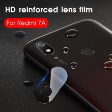 Защитное стекло для камеры смартфона Xiaomi Redmi 7A, бронированное стекло, толщина 0,3 мм, показатель по минералогической шкале твёрдости (шкала Мооса от 1 до 10): 9H (твёрдость алмаза 10H), в 4 раза более устойчиво к царапинам, чем обычная защитная плёнка, не влияет на качество съёмки, прозрачное, Киев