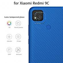 Защитное стекло для камеры смартфона Xiaomi Redmi 9C, бронированное стекло, толщина 0,2 – 0,3 мм, показатель по минералогической шкале твёрдости (шкала Мооса от 1 до 10): 9H (твёрдость алмаза 10H), в 4 раза более устойчиво к царапинам, чем обычная защитная плёнка, не влияет на качество съёмки, прозрачное, Киев