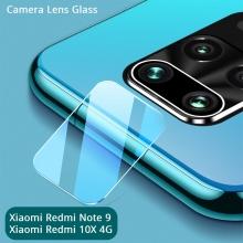 Защитное стекло для камеры смартфона Xiaomi Redmi Note 9 / Xiaomi Redmi 10X 4G, бронированное стекло, толщина 0,3 мм, показатель по минералогической шкале твёрдости (шкала Мооса от 1 до 10): 9H (твёрдость алмаза 10H), в 4 раза более устойчиво к царапинам, чем обычная защитная плёнка, не влияет на качество съёмки, прозрачное, Киев