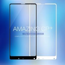 Защитное стекло Nillkin CP+ (3D Full Glue) для смартфона Xiaomi Mi Mix 2 / Xiaomi Mi Mix 2S, закалённое стекло, бронированное стекло, клеится к экрану смартфона всей поверхностью, 9H, толщина 0,33 мм, не влияет на чувствительность сенсора, не искажает цвета, антибликовое покрытие, олеофобное покрытие, стекло с закруглёнными краями 2.5D, 2,5D, 3D, 5D, 6D, прозрачное с чёрной или белой рамкой, liquid, Киев