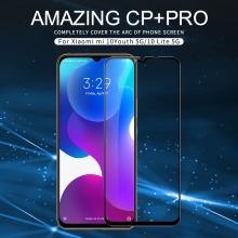 Защитное стекло Nillkin CP+Pro (3D Full Glue) для смартфона Xiaomi Mi10 Youth Edition 5G / Xiaomi Mi10 Lite 5G, закалённое стекло, бронированное стекло, полноэкранное стекло, полноклейка, клеится к экрану смартфона всей поверхностью, 9H, толщина 0,33 мм, не влияет на чувствительность сенсора, не искажает цвета, антибликовое покрытие, олеофобное покрытие, стекло с закруглёнными краями 2.5D, 2,5D, 3D, 5D, 6D, прозрачное с чёрной или белой рамкой, liquid, Киев