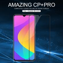 Защитное стекло Nillkin CP+Pro (3D Full Glue) для смартфона Xiaomi Mi9 Lite / Xiaomi Mi CC9, закалённое стекло, бронированное стекло, полноэкранное стекло, полноклейка, клеится к экрану смартфона всей поверхностью, 9H, толщина 0,33 мм, не влияет на чувствительность сенсора, не искажает цвета, антибликовое покрытие, олеофобное покрытие, стекло с закруглёнными краями 2.5D, 2,5D, 3D, 5D, 6D, прозрачное с чёрной или белой рамкой, liquid, Киев