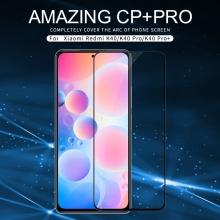 Защитное стекло Nillkin CP+Pro (3D Full Glue) для смартфона Xiaomi Poco F3 / Xiaomi Redmi K40 / Xiaomi Redmi K40 Pro / Xiaomi Mi 11i, закалённое стекло, бронированное стекло, полноэкранное стекло, полноклейка, клеится к экрану смартфона всей поверхностью, 9H, толщина 0,33 мм, не влияет на чувствительность сенсора, не искажает цвета, антибликовое покрытие, олеофобное покрытие, стекло с закруглёнными краями 2.5D, 2,5D, 3D, 5D, 6D, прозрачное с чёрной или белой рамкой, liquid, Киев
