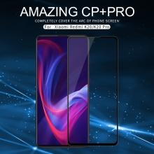 Защитное стекло Nillkin CP+Pro (3D Full Glue) для смартфона Xiaomi Redmi K20 / Xiaomi Redmi K20 Pro / Xiaomi Mi9T / Xiaomi Mi9T Pro, закалённое стекло, бронированное стекло, полноэкранное стекло, полноклейка, клеится к экрану смартфона всей поверхностью, 9H, толщина 0,33 мм, не влияет на чувствительность сенсора, не искажает цвета, антибликовое покрытие, олеофобное покрытие, стекло с закруглёнными краями 2.5D, 2,5D, 3D, 5D, 6D, прозрачное с чёрной или белой рамкой, liquid, Киев