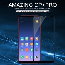 Защитное стекло Nillkin CP+Pro (3D Full Glue) для смартфона Xiaomi Redmi Note 7 / Redmi Note 7 Pro, закалённое стекло, бронированное стекло, полноэкранное стекло, полноклейка, клеится к экрану смартфона всей поверхностью, 9H, толщина 0,33 мм, не влияет на чувствительность сенсора, не искажает цвета, антибликовое покрытие, олеофобное покрытие, стекло с закруглёнными краями 2.5D, 2,5D, 3D, 5D, 6D, прозрачное с чёрной или белой рамкой, liquid, Киев
