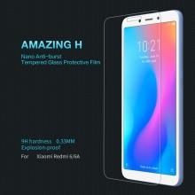 Защитное стекло Nillkin для смартфона Xiaomi RedMi 6 / Xiaomi RedMi 6A, закалённое стекло, бронированное стекло, 9H, антибликовое покрытие, олеофобное покрытие, Киев