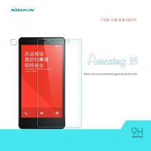 Защитное стекло Nillkin для смартфона Xiaomi RedMi Note, закалённое стекло, 9H, антибликовое покрытие, олеофобное покрытие, Киев