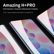 Защитное стекло Nillkin H+Pro для смартфона Xiaomi Poco F3 / Xiaomi Redmi K40 / Xiaomi Redmi K40 Pro / Xiaomi Mi 11i, закалённое стекло, бронированное стекло, 9H, толщина 0,2 мм, 2,5D, 2.5D, антибликовое покрытие, олеофобное покрытие, Киев