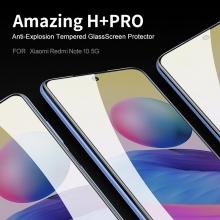 Защитное стекло Nillkin H+Pro для смартфона Xiaomi Redmi Note 10 5G, закалённое стекло, бронированное стекло, 9H, толщина 0,2 мм, 2,5D, 2.5D, антибликовое покрытие, олеофобное покрытие, Киев