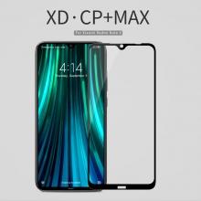 Защитное стекло Nillkin XD CP+Max (Full Glue) для смартфона Xiaomi Redmi Note 8, закалённое стекло, бронированное стекло, клеится к экрану смартфона всей поверхностью, дополнительно усилены края стекла, 9H, толщина 0,33 мм, не влияет на чувствительность сенсора, не искажает цвета, антибликовое покрытие, олеофобное покрытие, стекло с закруглёнными краями 2.5D, 2,5D, 3D, 5D, 6D, прозрачное с чёрной или белой рамкой, liquid, Киев