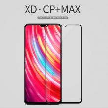 Защитное стекло Nillkin XD CP+Max (Full Glue) для смартфона Xiaomi Redmi Note 8 Pro, закалённое стекло, бронированное стекло, клеится к экрану смартфона всей поверхностью, дополнительно усилены края стекла, 9H, толщина 0,33 мм, не влияет на чувствительность сенсора, не искажает цвета, антибликовое покрытие, олеофобное покрытие, стекло с закруглёнными краями 2.5D, 2,5D, 3D, 5D, 6D, прозрачное с чёрной или белой рамкой, liquid, Киев