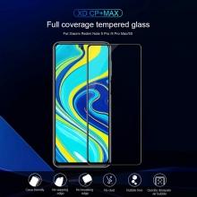 Защитное стекло Nillkin XD CP+Max (Full Glue) для смартфона Xiaomi Redmi Note 9 Pro / Xiaomi Redmi Note 9 Pro Max / Xiaomi Redmi Note 9S, закалённое стекло, бронированное стекло, клеится к экрану смартфона всей поверхностью, дополнительно усилены края стекла, 9H, толщина 0,33 мм, не влияет на чувствительность сенсора, не искажает цвета, антибликовое покрытие, олеофобное покрытие, стекло с закруглёнными краями 2.5D, 2,5D, 3D, 5D, 6D, прозрачное с чёрной или белой рамкой, liquid, Киев
