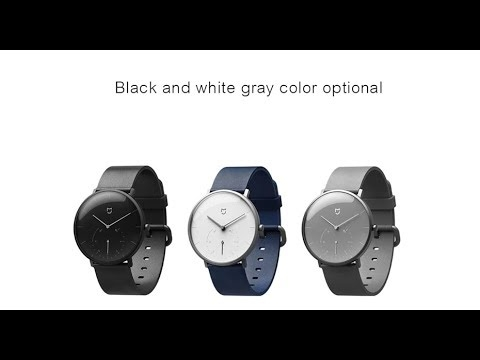 Embedded thumbnail for Xiaomi Mijia Quartz Smart Watch (рекламный ролик)