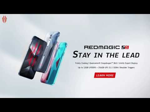 Embedded thumbnail for ZTE Nubia Red Magic 5S (рекламный ролик)