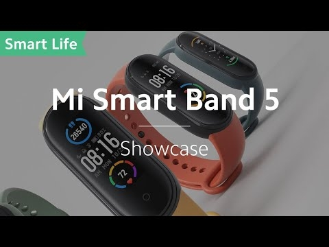 Embedded thumbnail for Xiaomi Mi Band 5 (рекламный ролик)