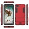 Чехол-накладка с подставкой для смартфона Xiaomi Redmi 6A, бронированный бампер, поликарбонат + термополиуретан, сочетание жёсткости с гибкостью, в чехол встроена подставка для просмотра видео, чёрный, серый, синий, красный, золотой, Киев
