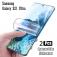 Гидрогелевая защитная плёнка для смартфона Samsung Galaxy S21 Ultra, в комплект входят 2 плёнки, бронированная плёнка, полноэкранная плёнка (закрывает экран смартфона полностью), клеится к экрану смартфона всей поверхностью, клеится без использования жидкости, самовосстанавливающаяся плёнка, не влияет на чувствительность сенсора, не искажает цвета, олеофобное покрытие, пластиковый держатель для точного позиционирования плёнки на экране, шпатель для разглаживания плёнки, Киев
