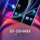 Защитное стекло Nillkin Glass 3D DS+Max (Full Glue) для смартфона OnePlus 8, закалённое стекло, бронированное стекло, клеится к экрану смартфона всей поверхностью, стекло AGC Inc. Asahi, изогнутое стекло, толщина 0,2 мм, 9H, не влияет на чувствительность сенсора, не искажает цвета, антибликовое покрытие, олеофобное покрытие, стекло с закруглёнными краями 2.5D, 2,5D, 3D, 5D, 6D, 9D, прозрачное с чёрной рамкой, Киев
