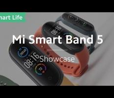 Embedded thumbnail for Xiaomi Mi Band 5 (рекламный ролик)