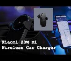 Embedded thumbnail for Автомобильное беспроводное зарядное устройство Xiaomi Wireless Car Charger
