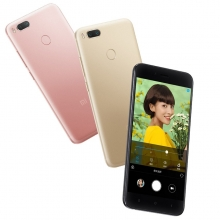 Смартфон Xiaomi Mi5X (4 + 64 Гб), цельнометаллический корпус, 2 SIM-карты, 8-ядерный процессор Snapdragon 625, Adreno 506, 4 Гб RAM + 64 Гб ROM, экран 5,5'' LTPS 1920*1080, 2,5D, Corning Gorilla Glass, двойная основная камера 12 MP + 12 MP, двухтоновая светодиодная вспышка, аккумулятор 3080 мА/ч, сканер отпечатков пальцев, Wi-Fi, Bluetooth 4.2, GPS, FM Radio, OTG, USB Type-C, MIUI 9, Android 7.1.2, Киев